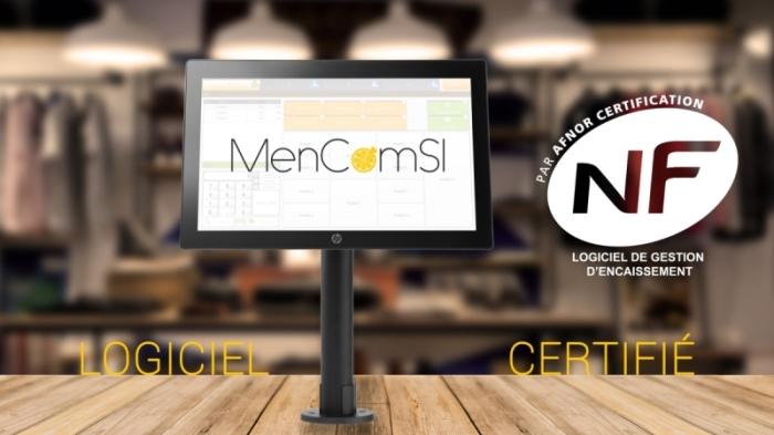 Le logiciel de caisse certifié Menlog